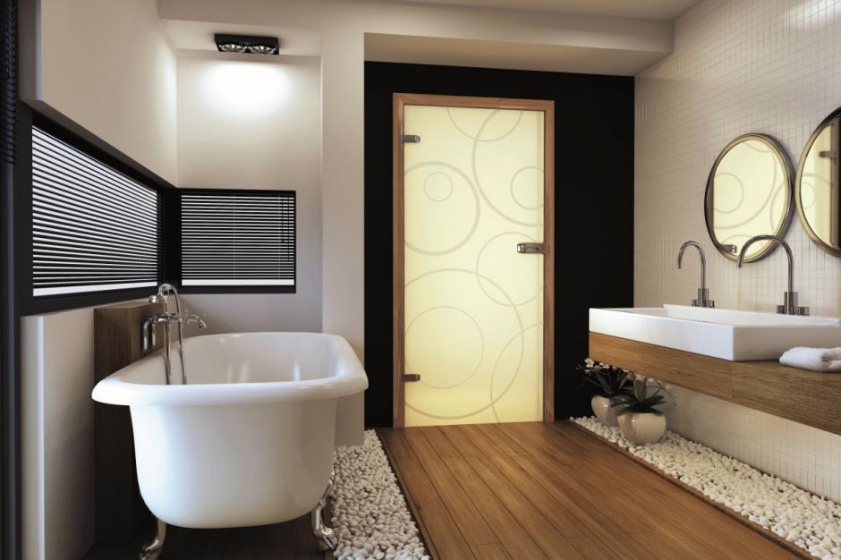 Radzimy Drzwi Do łazienki Wybierz Model Ze Szklanym