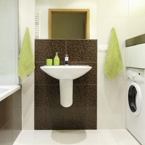Pomysł na małą łazienkę - wanna z parawanem