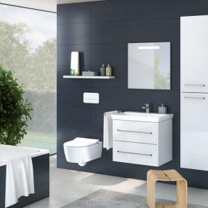 Funkcjonalna łazienka: wybierz podwieszane wyposażenie