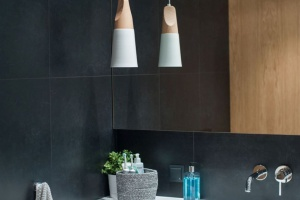Drewno w łazience: w projekcie pracowni Raca Architekci