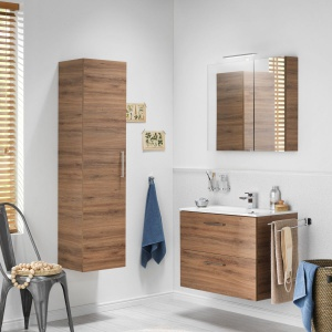Przechowywanie w łazience: meble dobrze zorganizowane