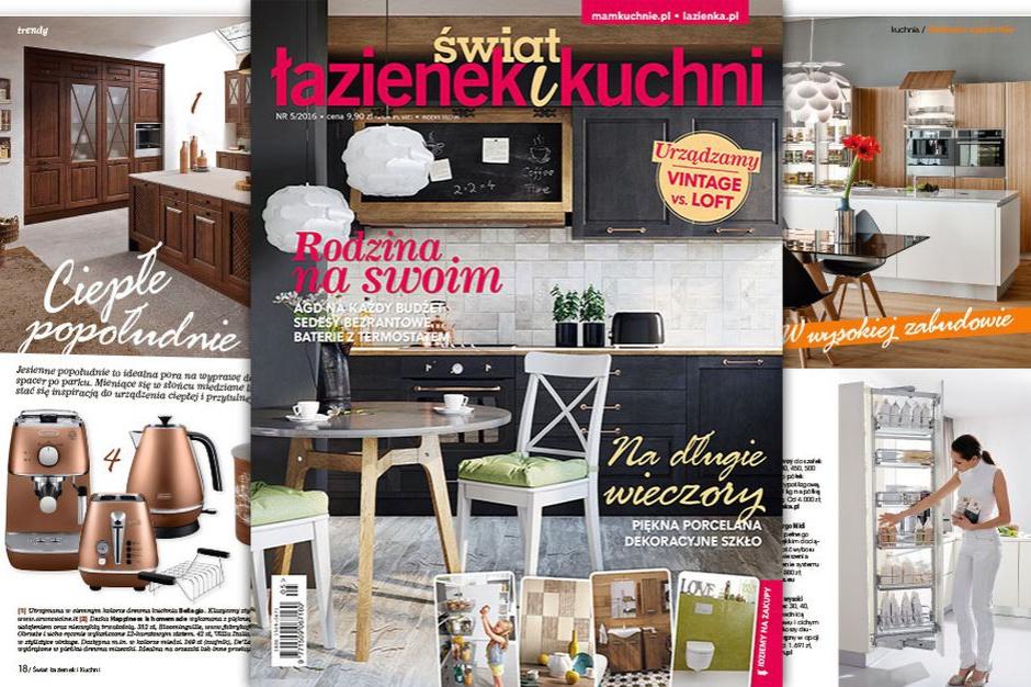 Nowy numer Świata Łazienek i Kuchni już w sprzedaży