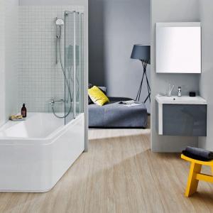 Kolorowe meble łazienkowe: kolekcje na każdą kieszeń