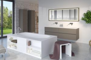 Przechowywanie w łazience: co zamiast szafek?
