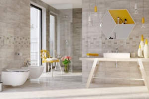 Kolorowa łazienka: zatrzymaj lato na dłużej