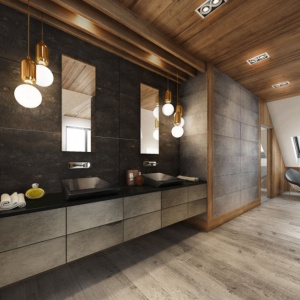 5 pomysłów na ciemną łazienkę