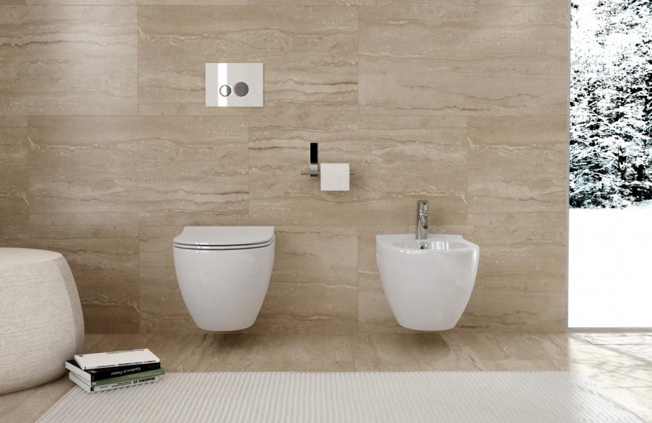 Czystość w łazience: postaw na gładką ceramikę