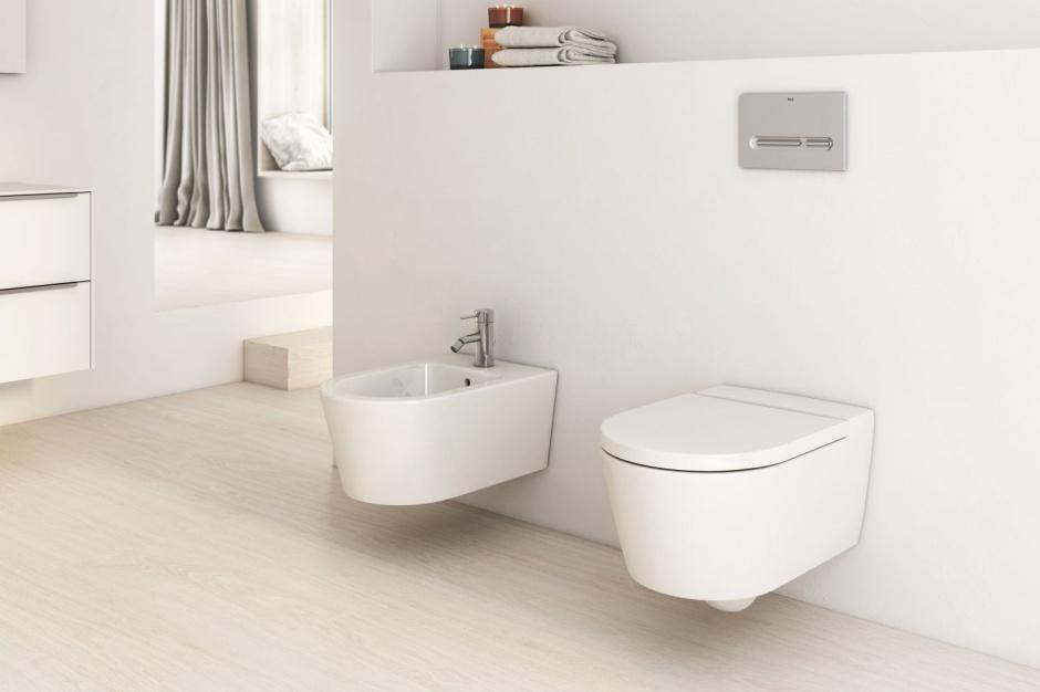 Higiena w łazience: postaw na WC bez kołnierza