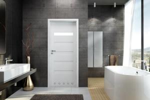 Drzwi do łazienki - wybierz model z delikatnymi przeszkleniami