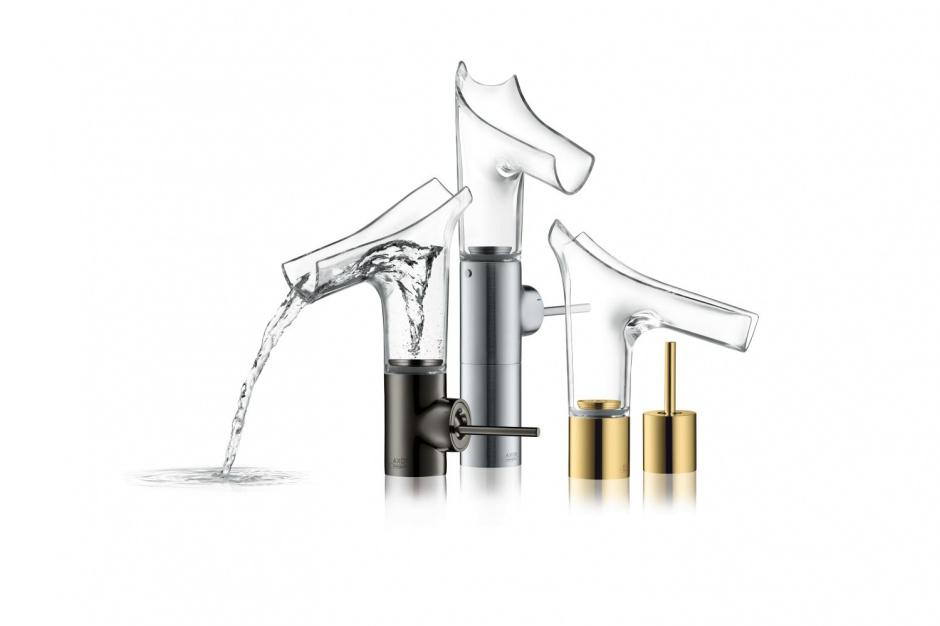 Design w łazience: niezwykła dekoracyjna armatura