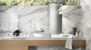 3 pomysły na marmur w łazience