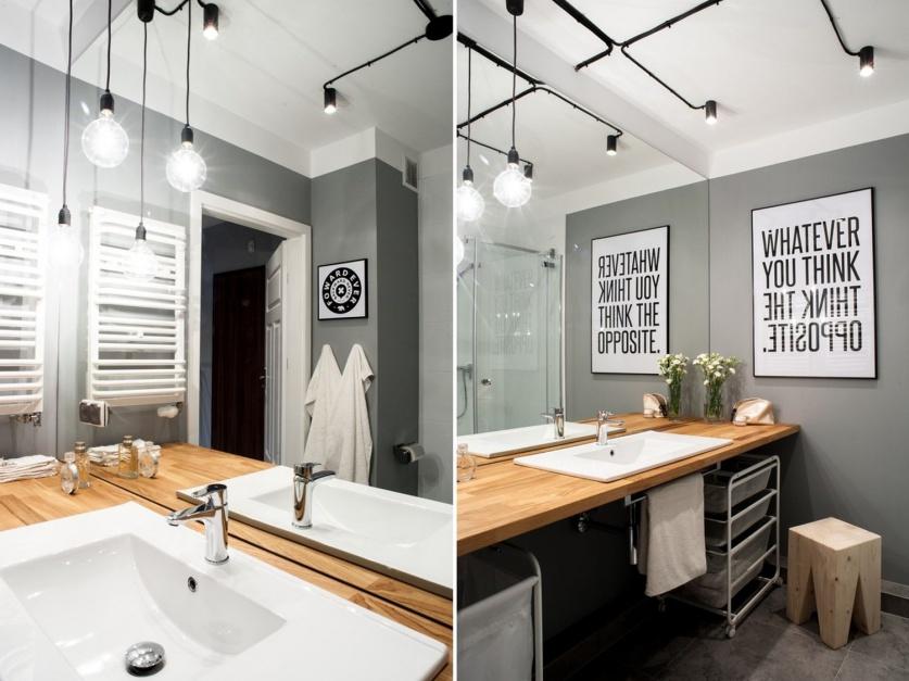 Radzimy Oświetlenie W łazience Inspiracje Z Domów Polaków