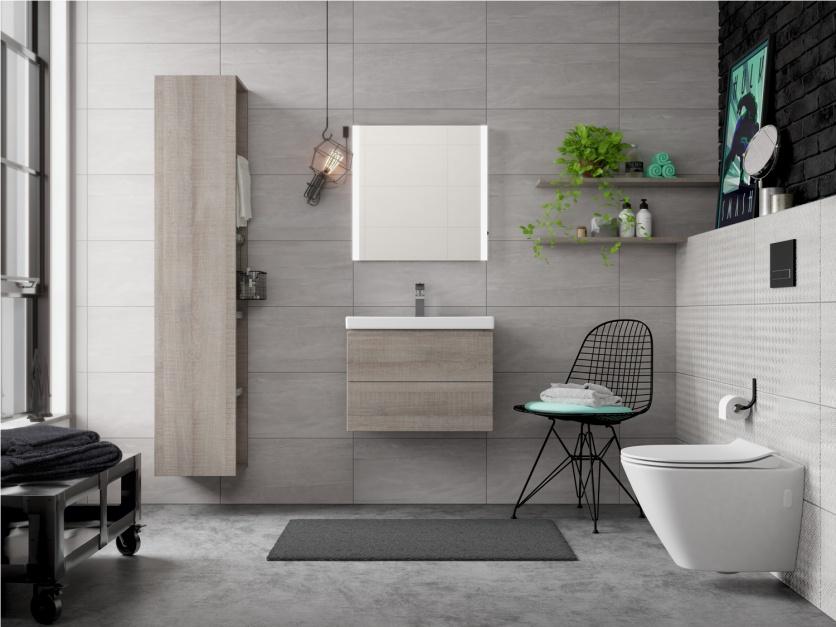 Łazienka w wielkomiejskim stylu - nowa kolekcja ceramiczno-meblowa