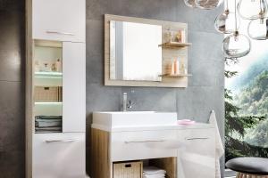 Meble łazienkowe: 5 kolekcji na wysoki połysk