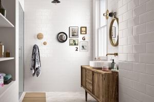 Białe płytki ceramiczne: 10 modnych kolekcji