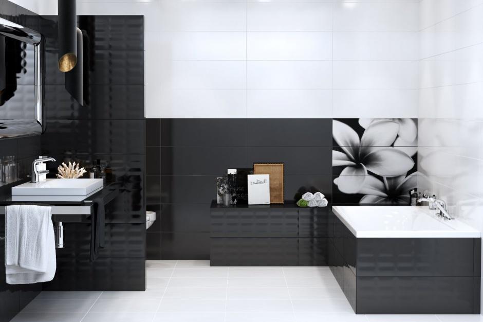 Elegancka łazienka: wybierz wyposażenie w czarnym kolorze