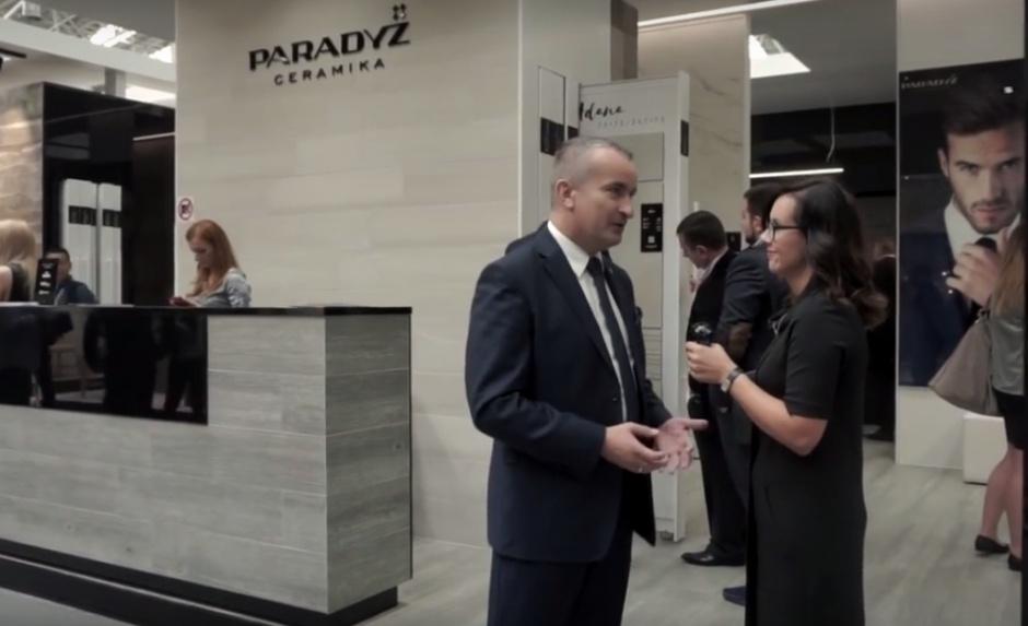 Piotr Tokarski o działaniach eksportowych Ceramiki Paradyż