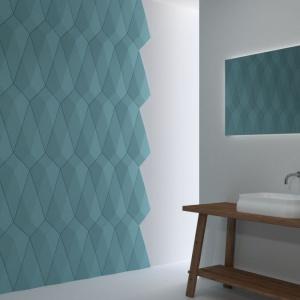 Ściana w łazience: wybierz panele 3D