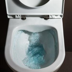 Bezkołnierzowe miski WC: higieniczne i wydajne
