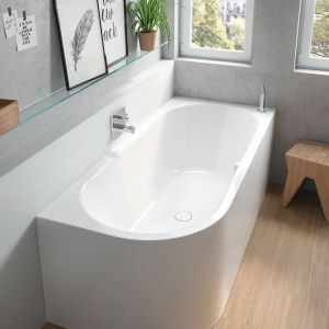 Gotowy pomysł na niewielką łazienkę
