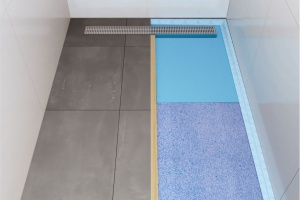 Zastosowanie płyt budowlanych  z polistyrenu w łazience