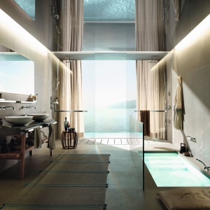 Luksusowy salon kąpielowy: zobacz piękne, inspirujące zdjęcia