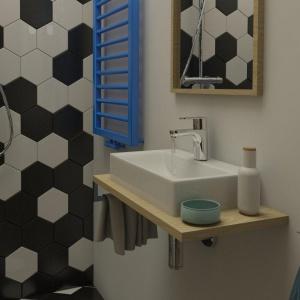 Bardzo mała łazienka: gotowy projekt w krakowskiej kamienicy