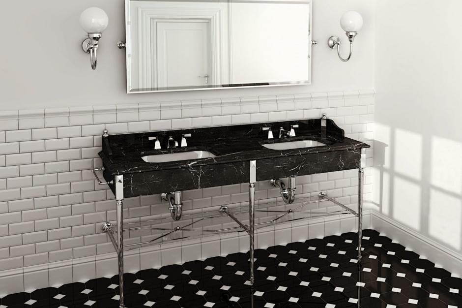 Łazienka dla dwojga: zobacz niezwykłe luksusowe konsole