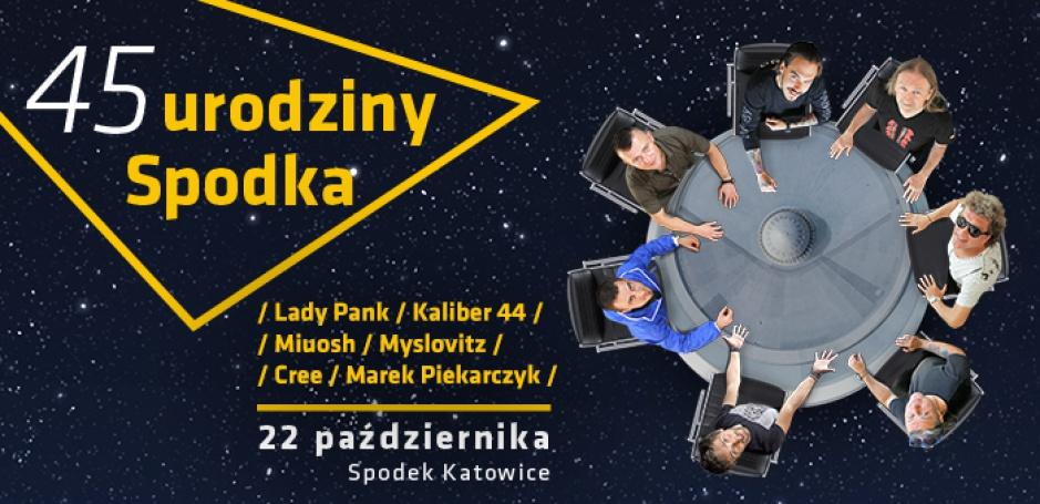 Urodziny Spodka - bilety dla czytelników portalu Rynek Łazienek