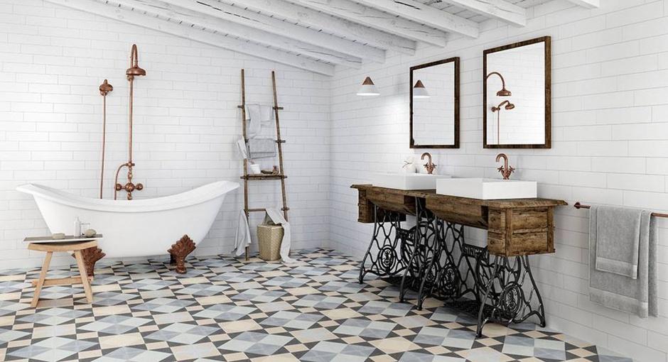 Inspirujemy łazienka W Stylu Retro Jak Ją Urządzić