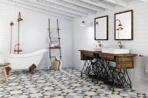 Łazienka w stylu retro - jak ją urządzić?