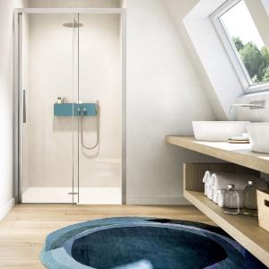 Nowoczesna strefa prysznica: wybierz wielofunkcyjną półkę prysznicową z łącznością Bluetooth