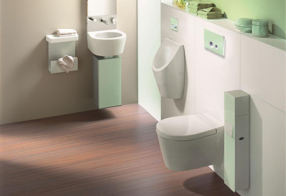Kolor w łazience: postaw na barwną... spłuczkę!