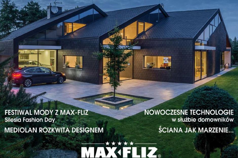 Max-Fliz wyraża swą pasję do aranżacji wnętrz i designu. Na papierze i w sieci