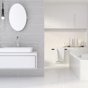 Jasna łazienka: dodaj jej wyrazu z kolekcją strukturalnych płytek
