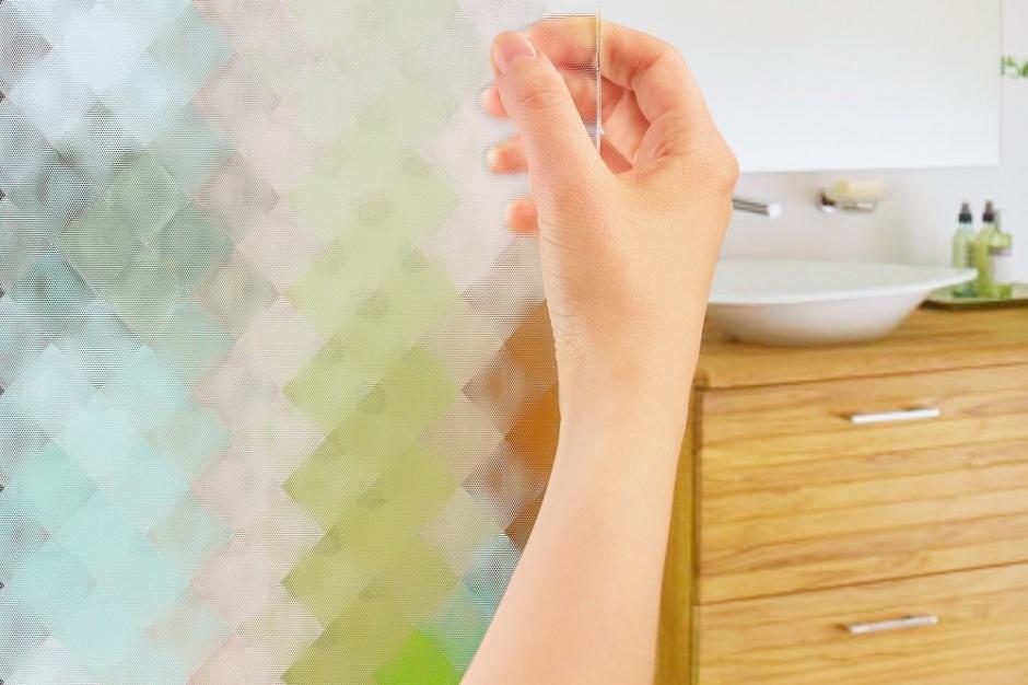 Technologie do łazienki: szkło z efektem 3D