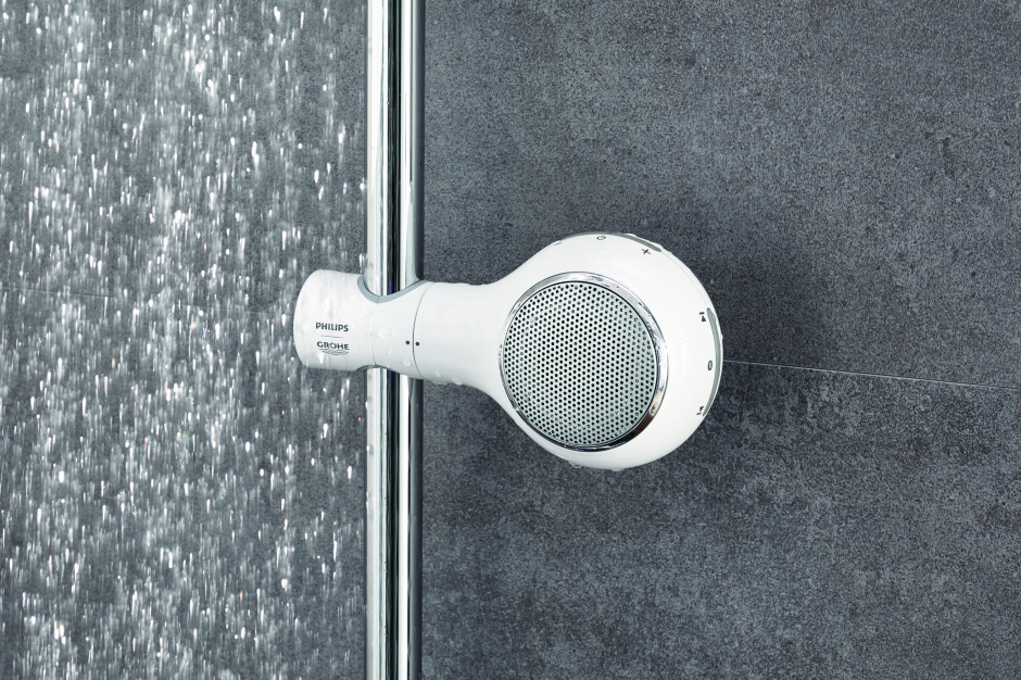 Nowoczesna łazienka: wodoodporny głośnik prysznicowy