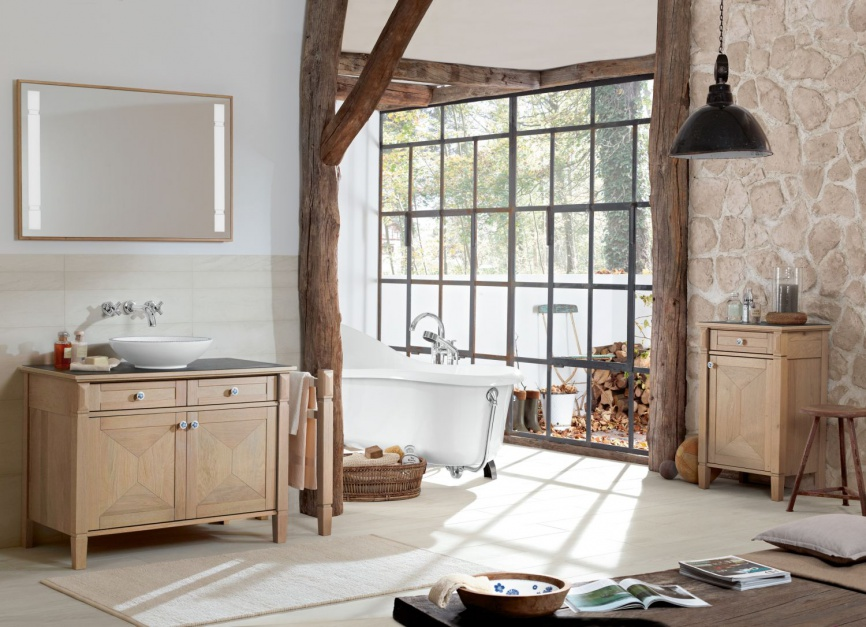 Inspirujemy 5 Pomysłów Na łazienkę W Stylu Rustykalnym