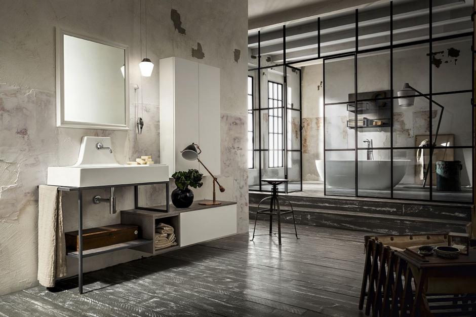 Trendy łazienkowe: wybierz modne otwarte półki