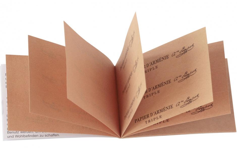 Relaks w łazience: wypróbuj legendarny Papier d'Arménie