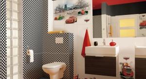 Łazienka dla dzieci: płytki z bohaterami Disneya