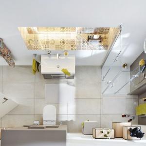 Łazienka dla gości: postaw na elegancką i praktyczną umywalkę