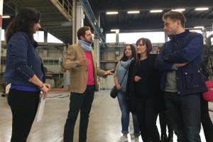 Salonika z wizytą w fabryce Novellini