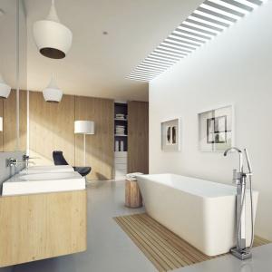 Elegancka strefa kąpieli: wybieramy baterię wannową