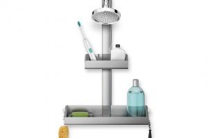 Funkcjonalna strefa natryskowa: wybierz praktyczne półki prysznicowe