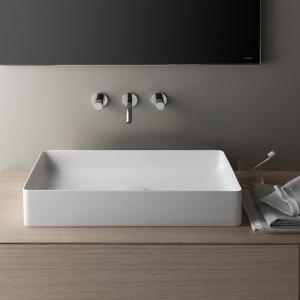 Designerska ceramika sanitarna: umywalki z innowacyjnego materiału