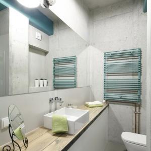 Mała łazienka w stylu loft: gotowy projekt na 4,5 metra