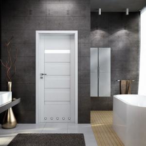 Drzwi wewnętrzne: modne modele do łazienki