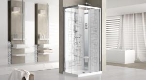 Funkcjonalna strefa prysznica: praktyczna 4-ścienna kabina