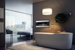 Kominek w łazience: dobierz kratkę wentylacyjną